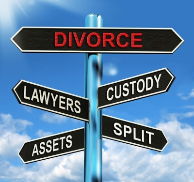 Divorce-Sign-Post