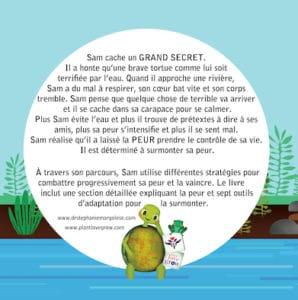 French Back cover Le Grand Secret de Sam